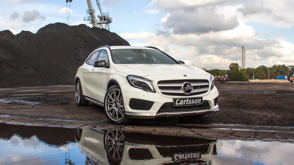 Mercedes GLA por Carlsson, 'maquillaje' al completo
