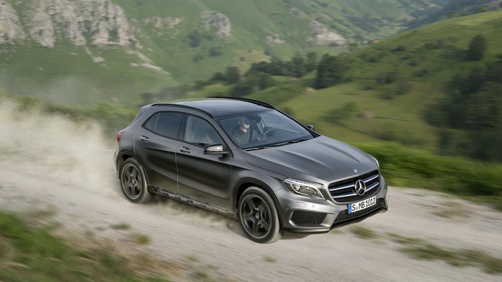 Mercedes GLA, un rival para Q3, X1 y Evoque