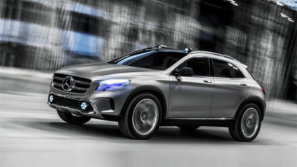 Mercedes Concept GLA: el Evoque y el Q3, sus rivales