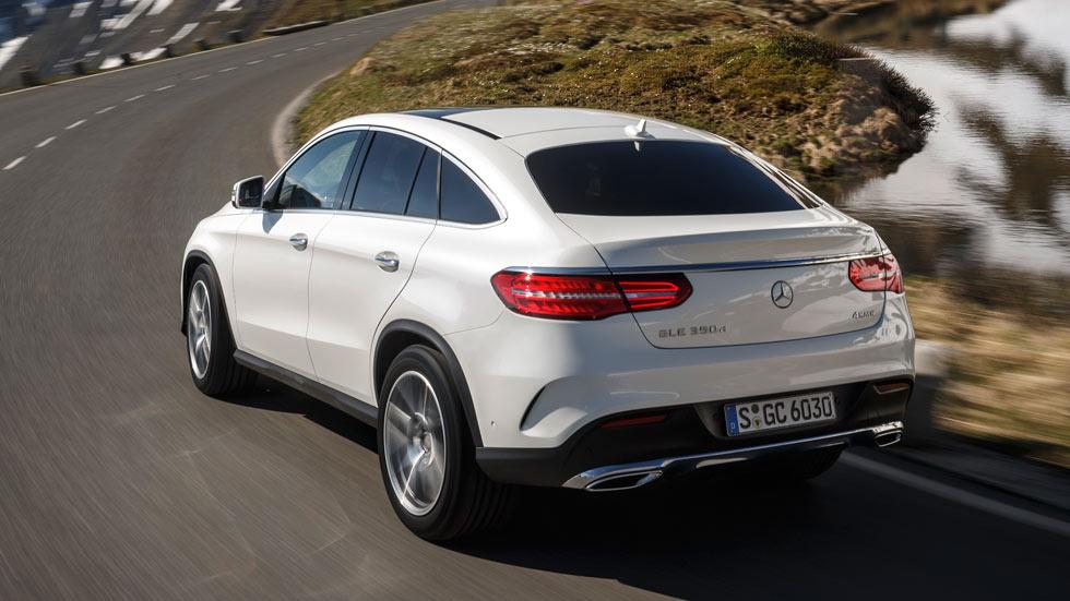 Primera prueba: Mercedes GLE Coupé