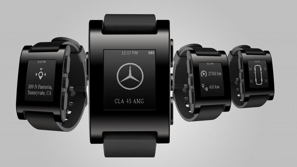 Mercedes lanza un reloj que te ayuda a conducir