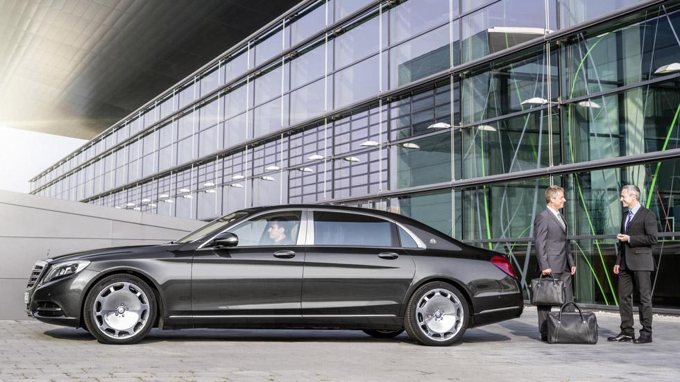 Mercedes-Maybach Clase S, el Mercedes más lujoso del mundo