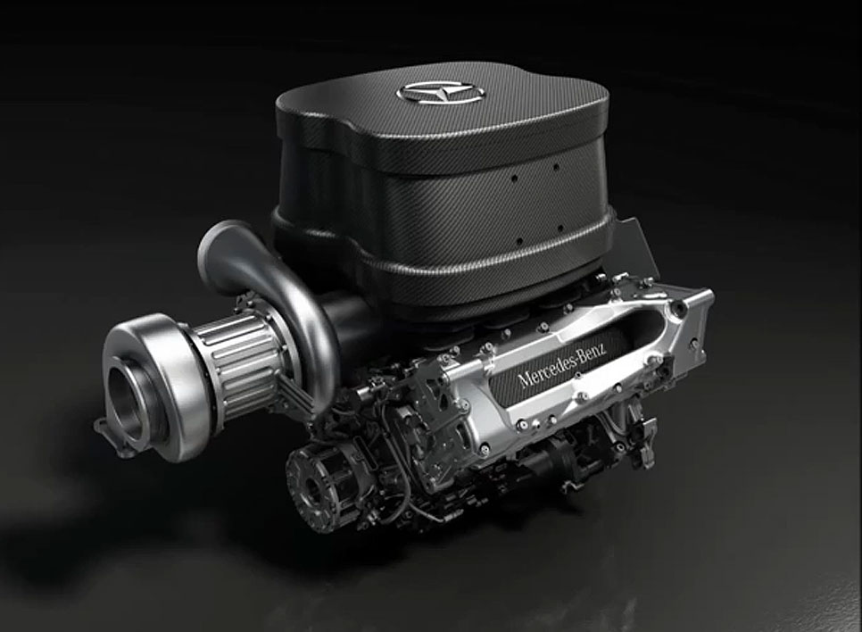 Mercedes hace sonar su nuevo motor V6 para la Fórmula 1 2014