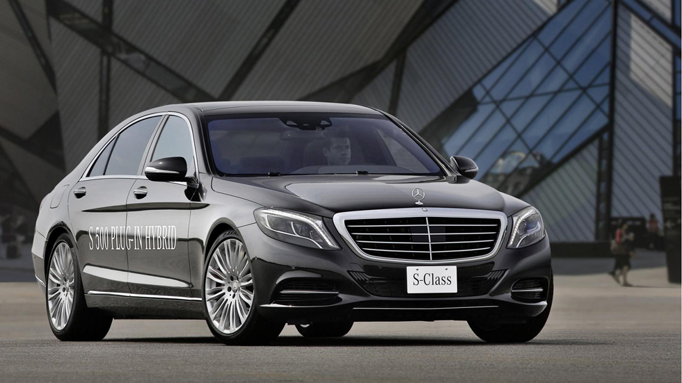 Mercedes S500 Plug in Hybrid, mechero de lujo