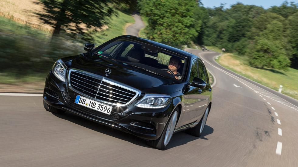 Mercedes S500 Plug-in Hybrid, híbrido de lujo que gasta 2,8 l/100 km