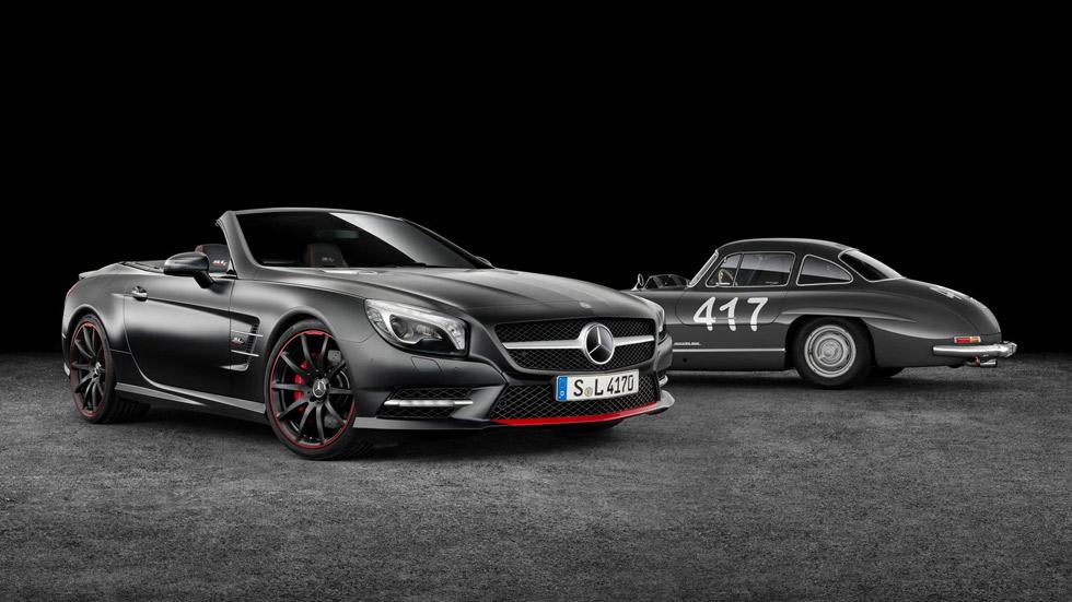 Mercedes SL Mille Miglia 417 Edition, tributo al 300SL Gullwing
