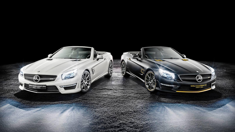 Mercedes SL63 AMG World Championship 2014 Collector's Edition, tributo al campéon de F-1