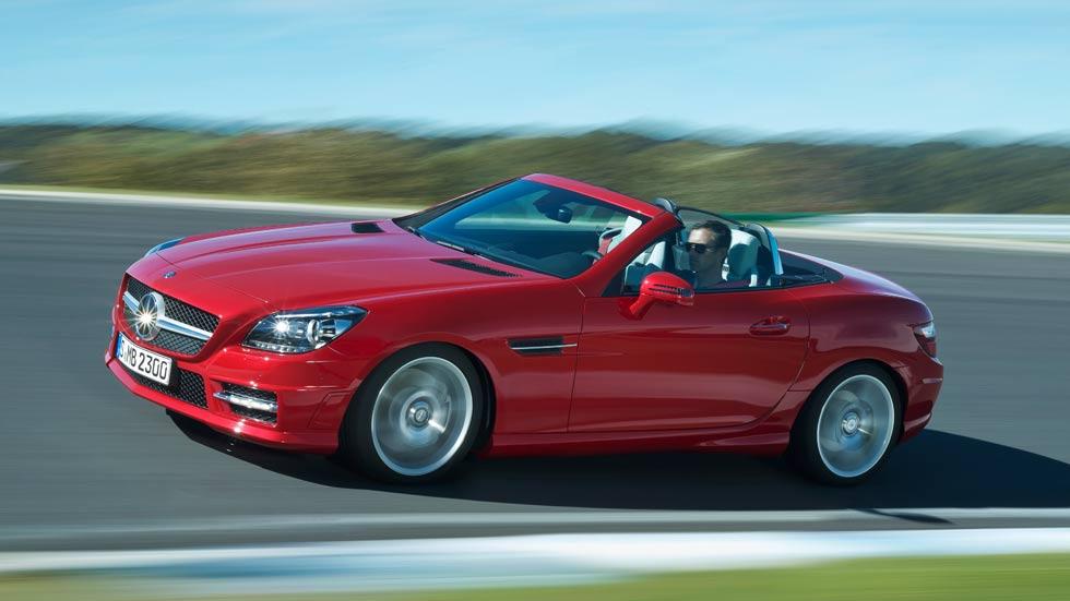 Mercedes SLK 2015, glamour y distinción más eficientes