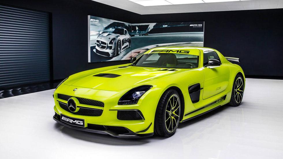 El Mercedes SLS AMG Black Series hecho a medida