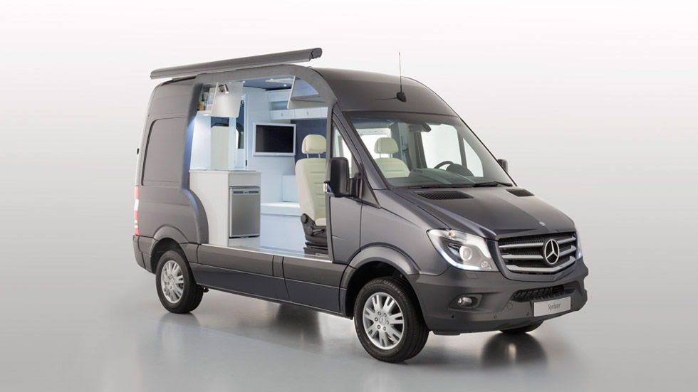 Mercedes Sprinter Caravan Concept, una casa sobre ruedas
