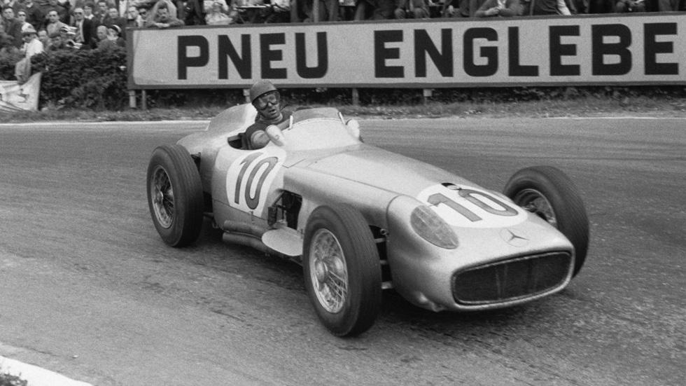 22,7 millones por el Mercedes W196 de Fangio