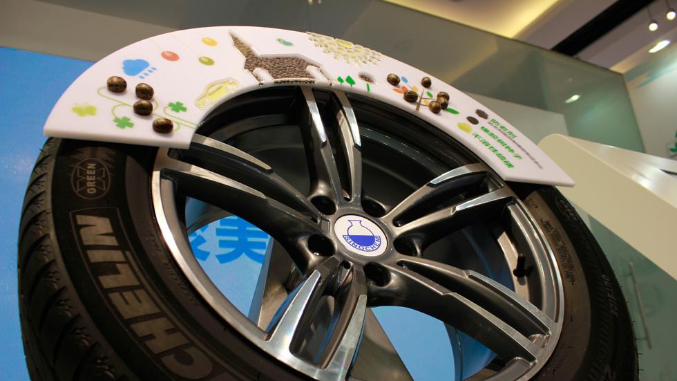 Challenge Bibendum: Michelin y sus neumáticos reciclados en alcohol