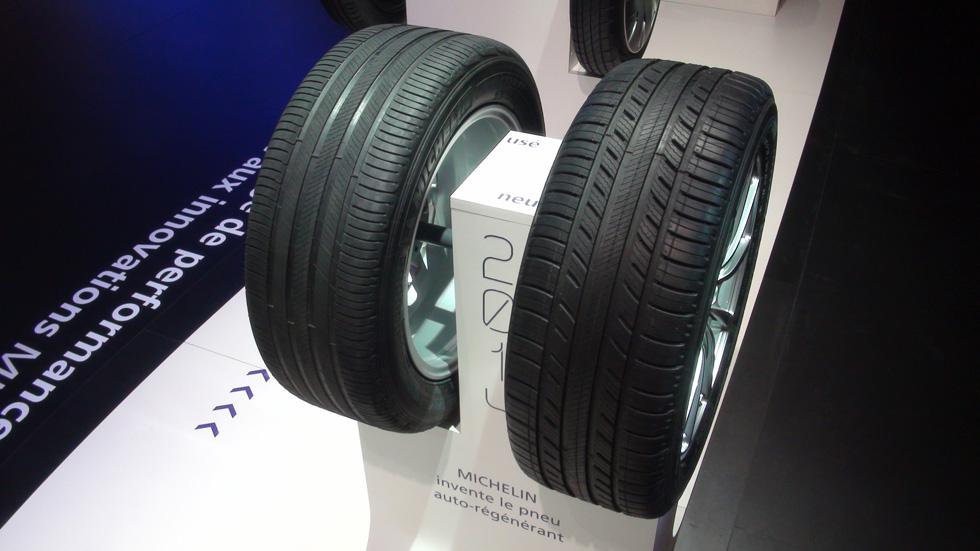 Challenge Bibendum: Michelin Premier A/S, el neumático regenerativo