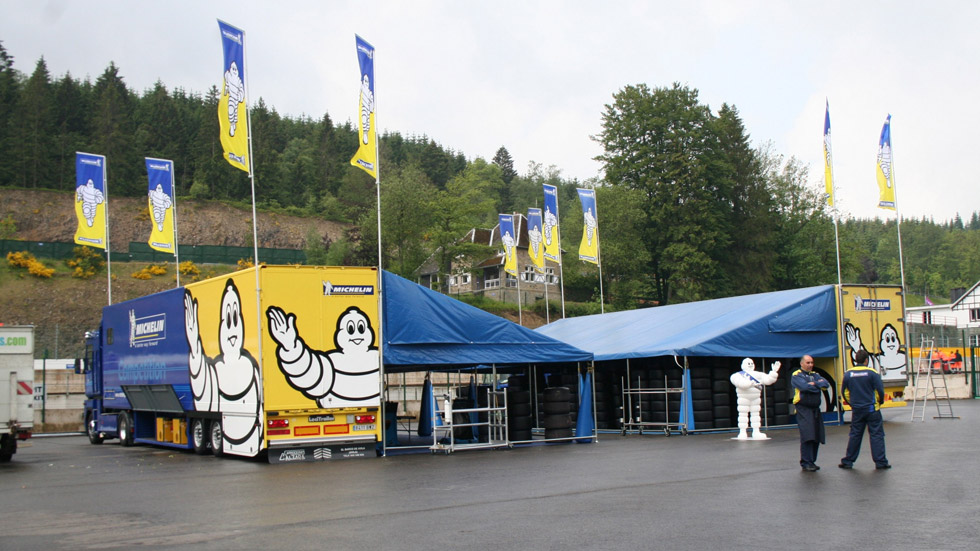 Michelin y V-Line, juntos para tres campeonatos de circuitos en España