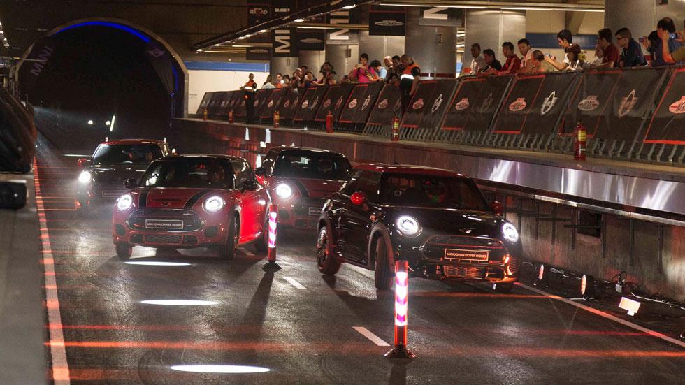 Vídeo: Mini Metro Race, 231 CV en el Metro de Madrid