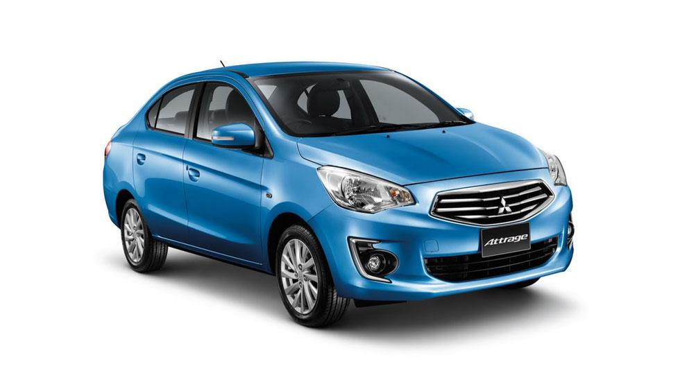 Mitsubishi Attrage, nuevo sedán low-cost