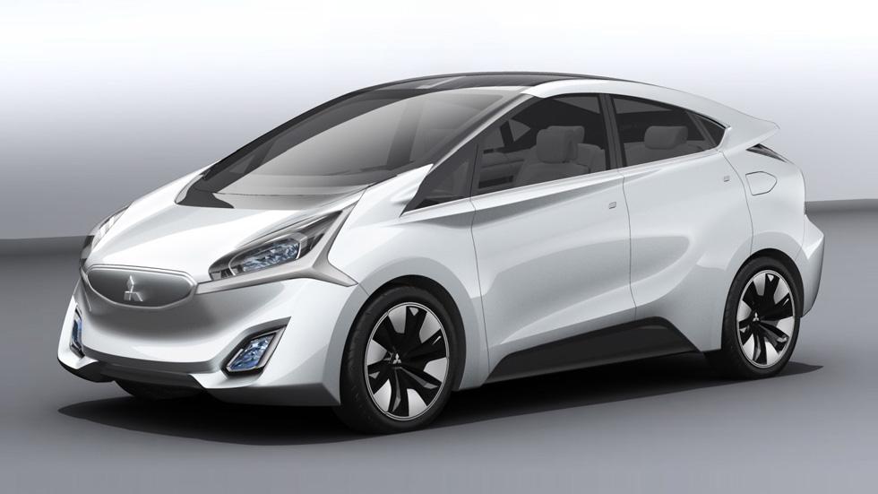 Mitsubishi CA-MiEV, el futuro monovolumen eléctrico