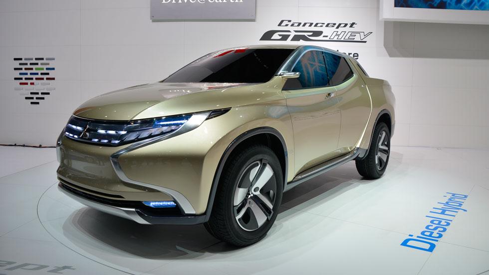 Mitsubishi GR-HEV Concept, 'pick-up' híbrido