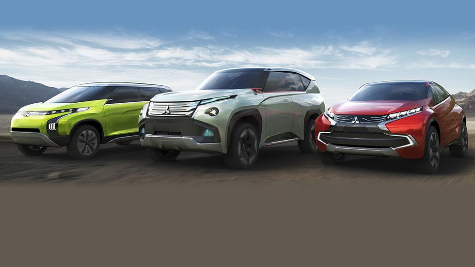 El futuro de Mitsubishi: GC-PHEV, XR-PHEV y AR