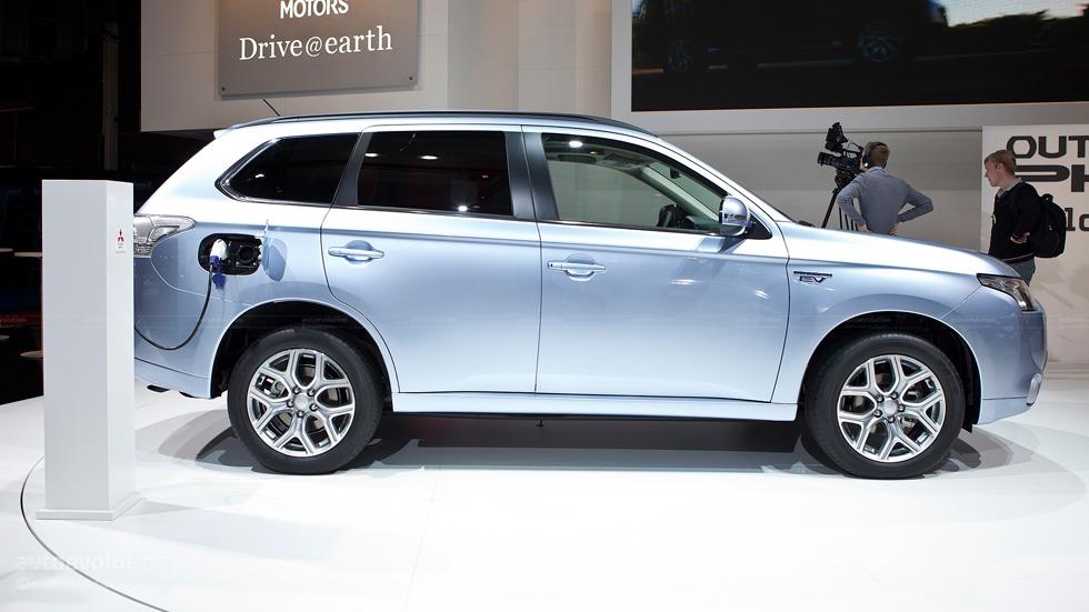 El Mitsubishi Outlander híbrido enchufable llegará en julio