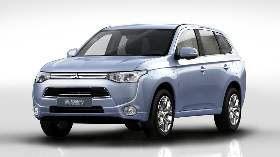 Mitsubishi Outlander híbrido enchufable, a la venta en Japón