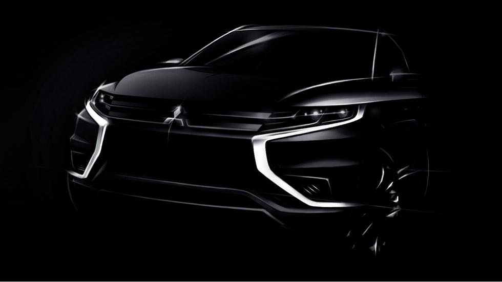 Mitsubishi Outlander PHEV Concept-S, más dinámico y moderno