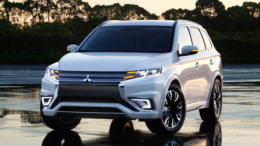 Mitsubishi Outlander PHEV Concept-S, primeras fotos y datos oficiales
