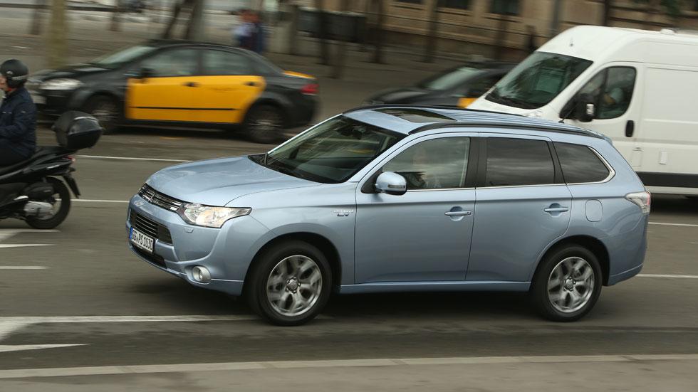 Contacto: Mitsubishi Outlander PHEV, híbrido enchufable de tracción total