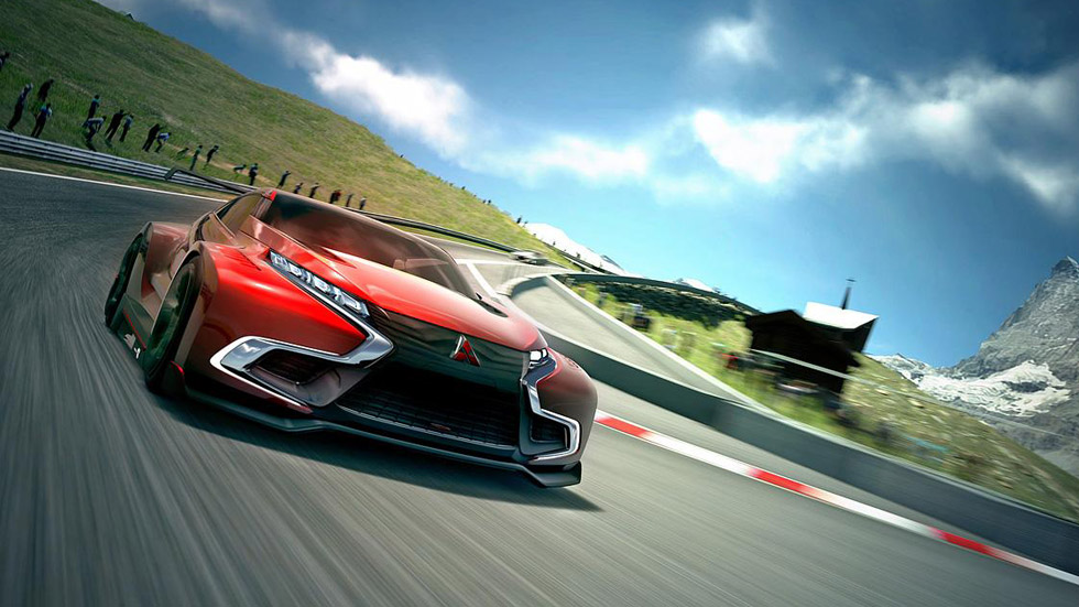 Mitsubishi XR-PHEV Evolution Vision Gran Turismo, para GT6