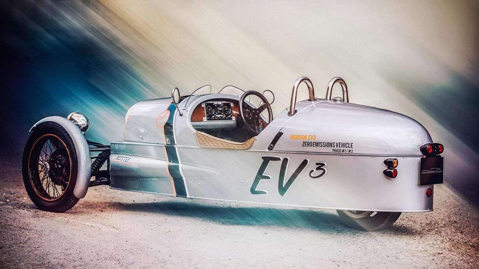 Morgan EV3, el 3 Wheeler eléctrico