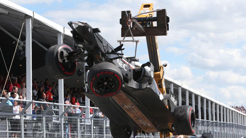 Fallece un comisario en el GP de Canadá al ser arrollado por una grúa