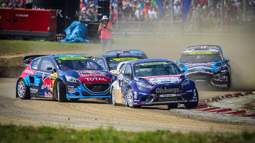 Así es el Mundial de Rallycross de la FIA: adrenalina al máximo