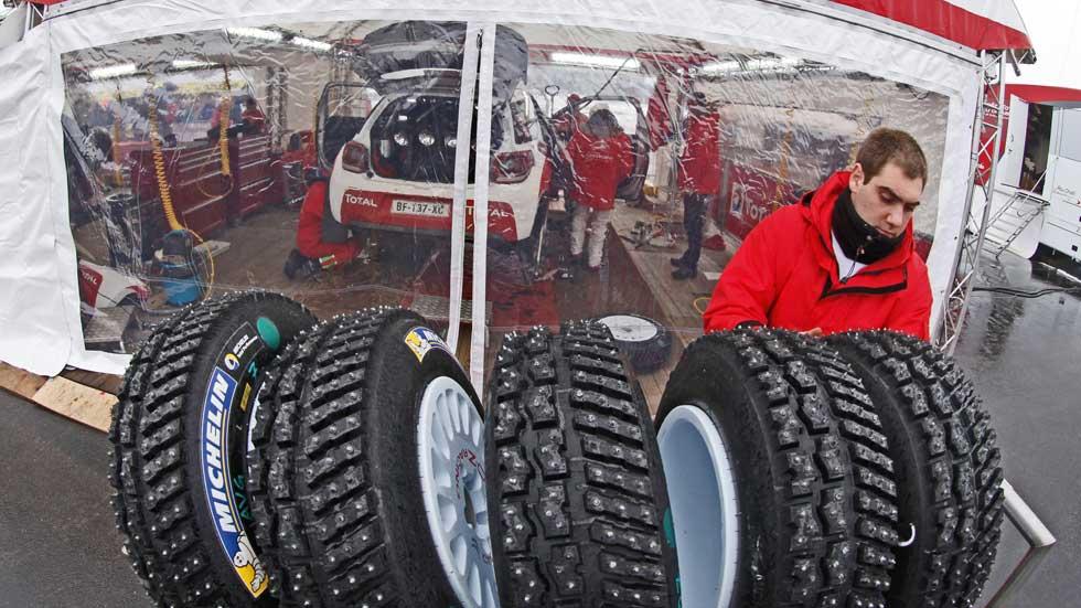 Michelin, pieza clave en el Mundial de Rallyes