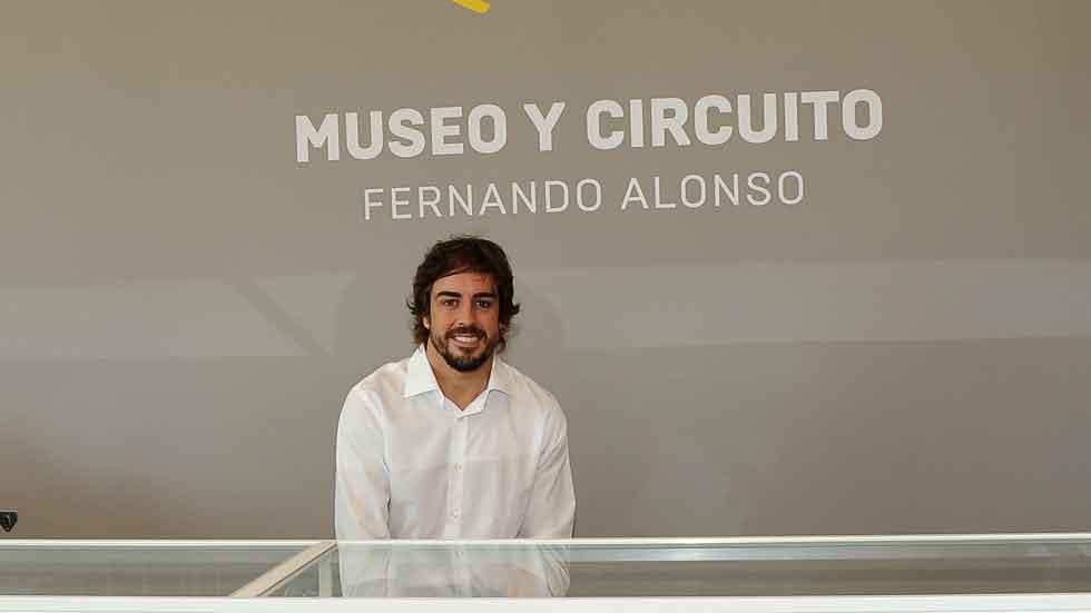 Así es el museo circuito de Fernando Alonso (vídeo)