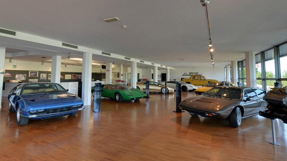 Visita el Museo de Lamborghini desde el sofá de tu casa