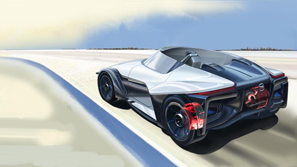 Motores eléctricos en las ruedas: ¿se atreverá Nissan en el ZEOD RC?