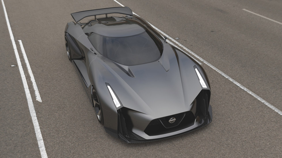 Nissan Concept Visión 2020 Gran Turismo, el samurái virtual