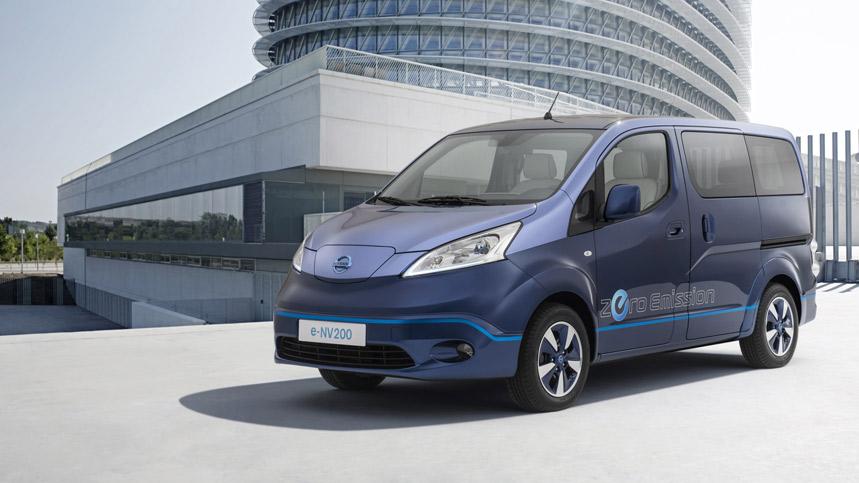 Nissan e-NV200 VIP Concept, para la clase premium... eléctrica