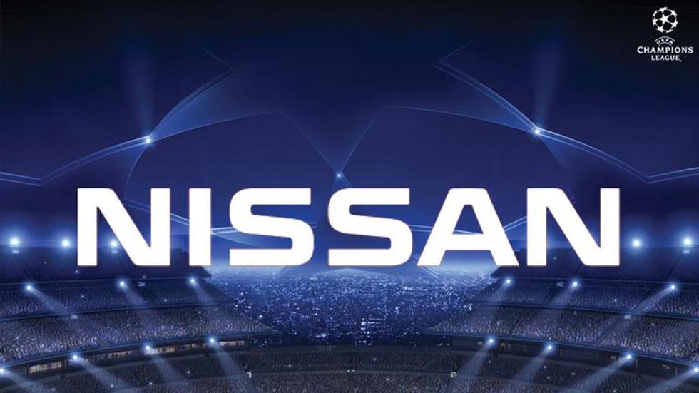 Nissan estrena su patrocinio con la UEFA Champions League