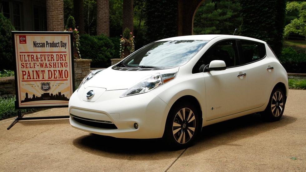 Nissan Leaf, el coche más limpio del mundo