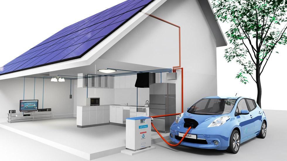 'Leaf to home': ilumina tu casa con el Nissan Leaf