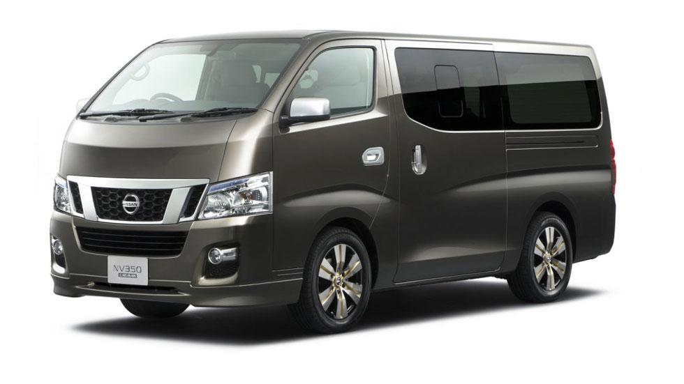 Nissan llama a revisión al modelo NV350 Caravan