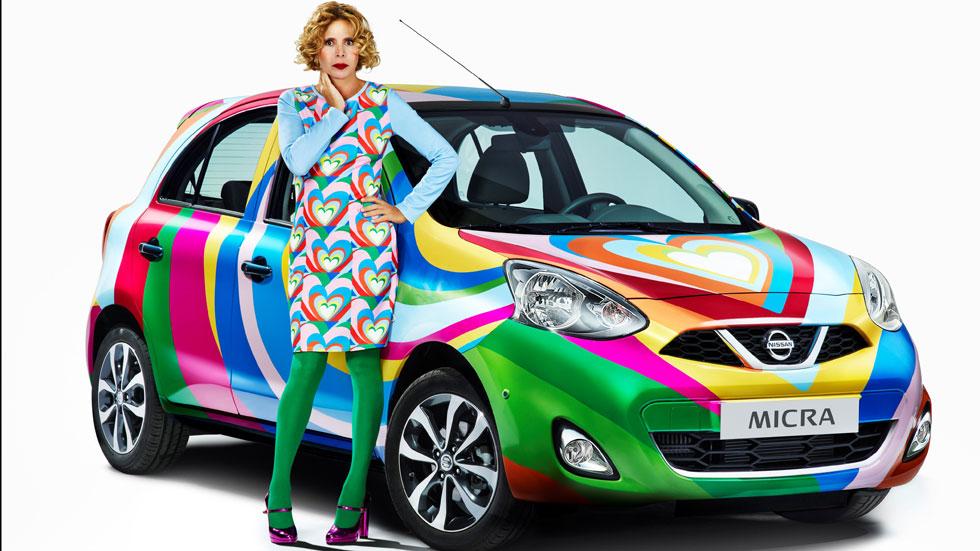Agatha Ruiz de la Prada diseña un Nissan Micra