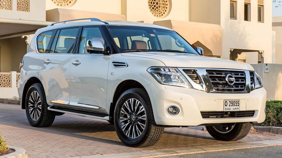 Nissan Patrol 2014, lavado de cara en Dubai