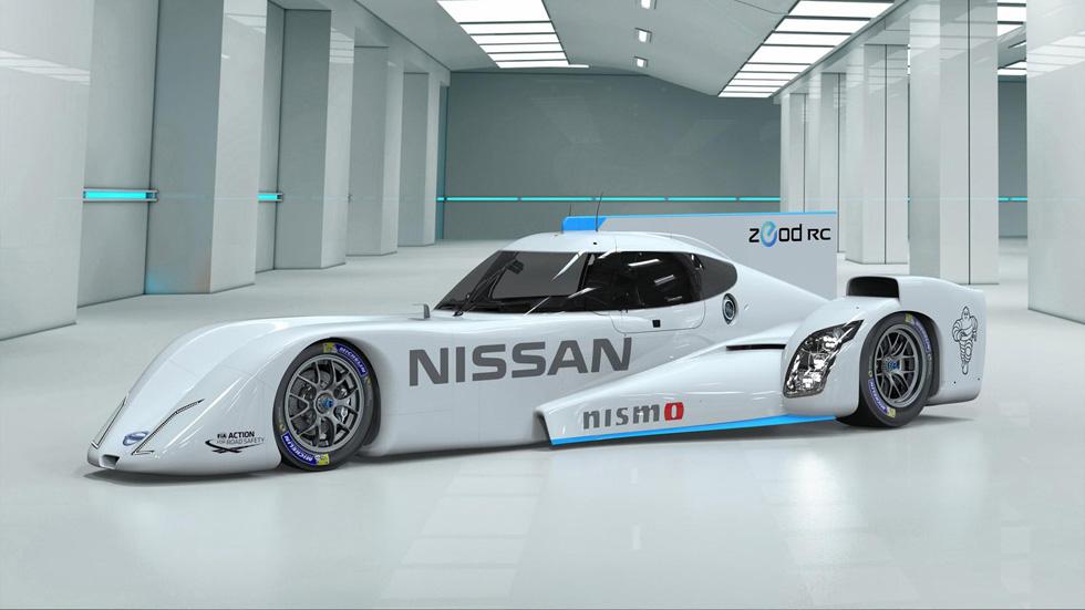 Nissan ZEOD RC, un rayo eléctrico de carreras