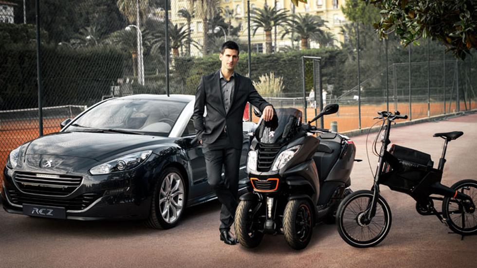 Novak Djokovic, nuevo embajador de Peugeot