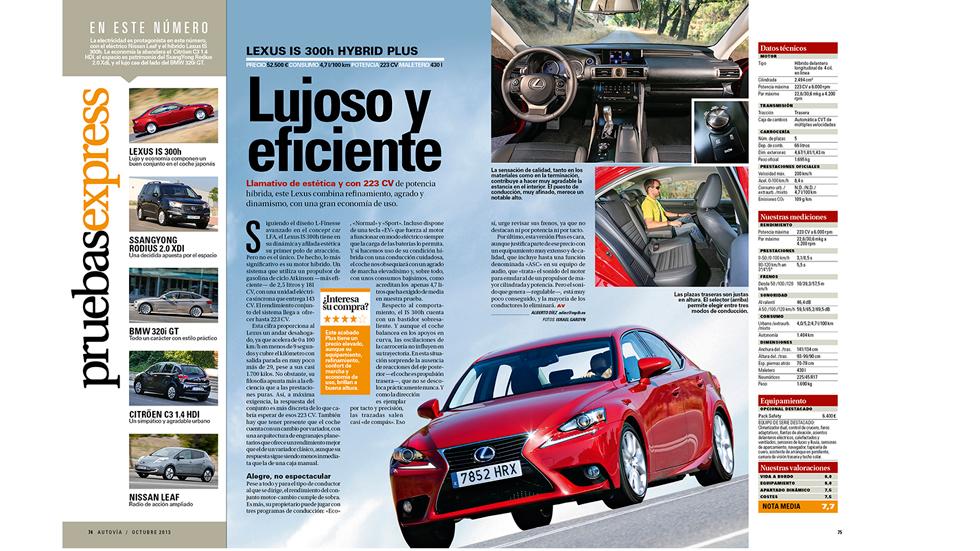 La nueva revista AUTOVÍA, el 24 de septiembre