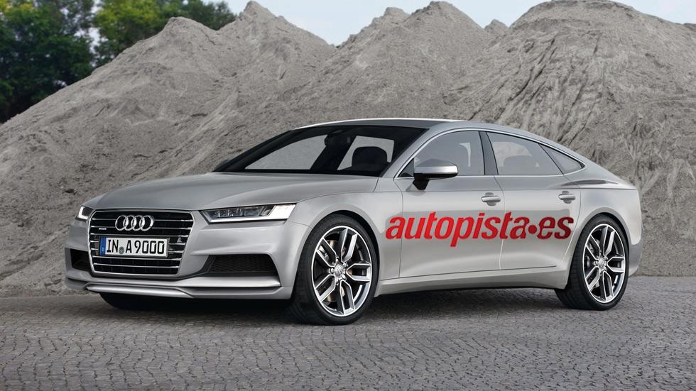 Nuevo Audi A9, un A7 a lo grande en 2016