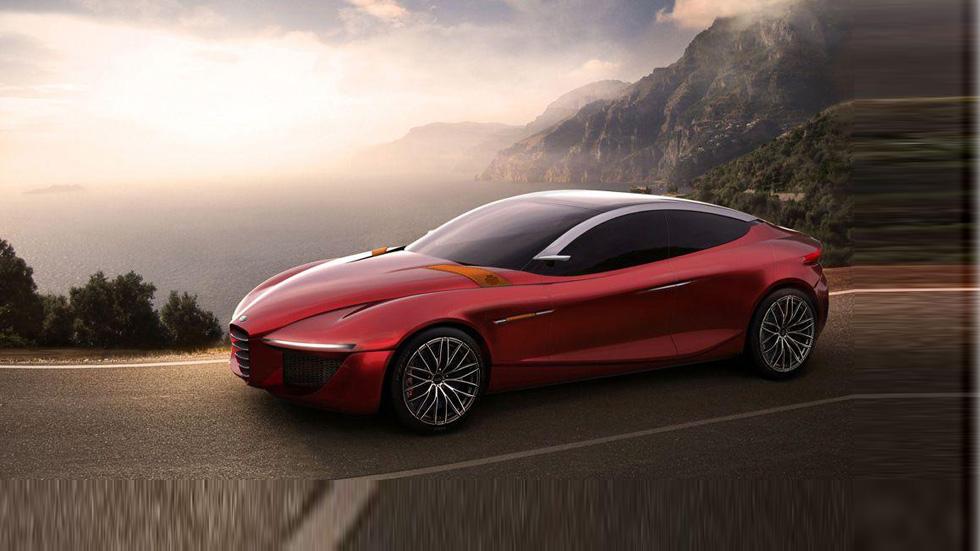 Nuevo Alfa Romeo Gloria, culto al arte sobre ruedas