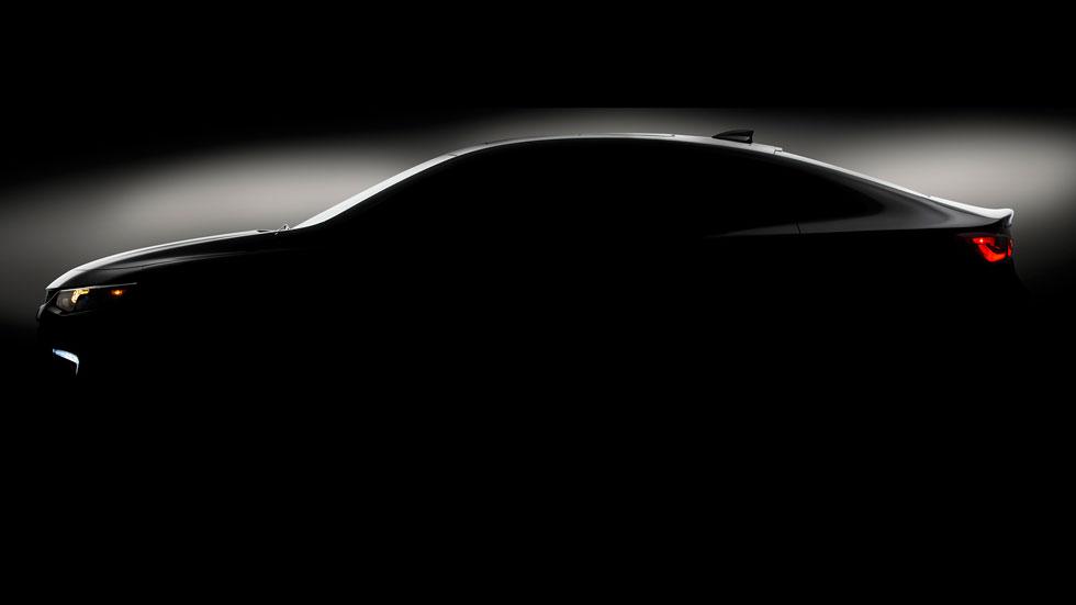 Nuevo Chevrolet Malibu, primer teaser